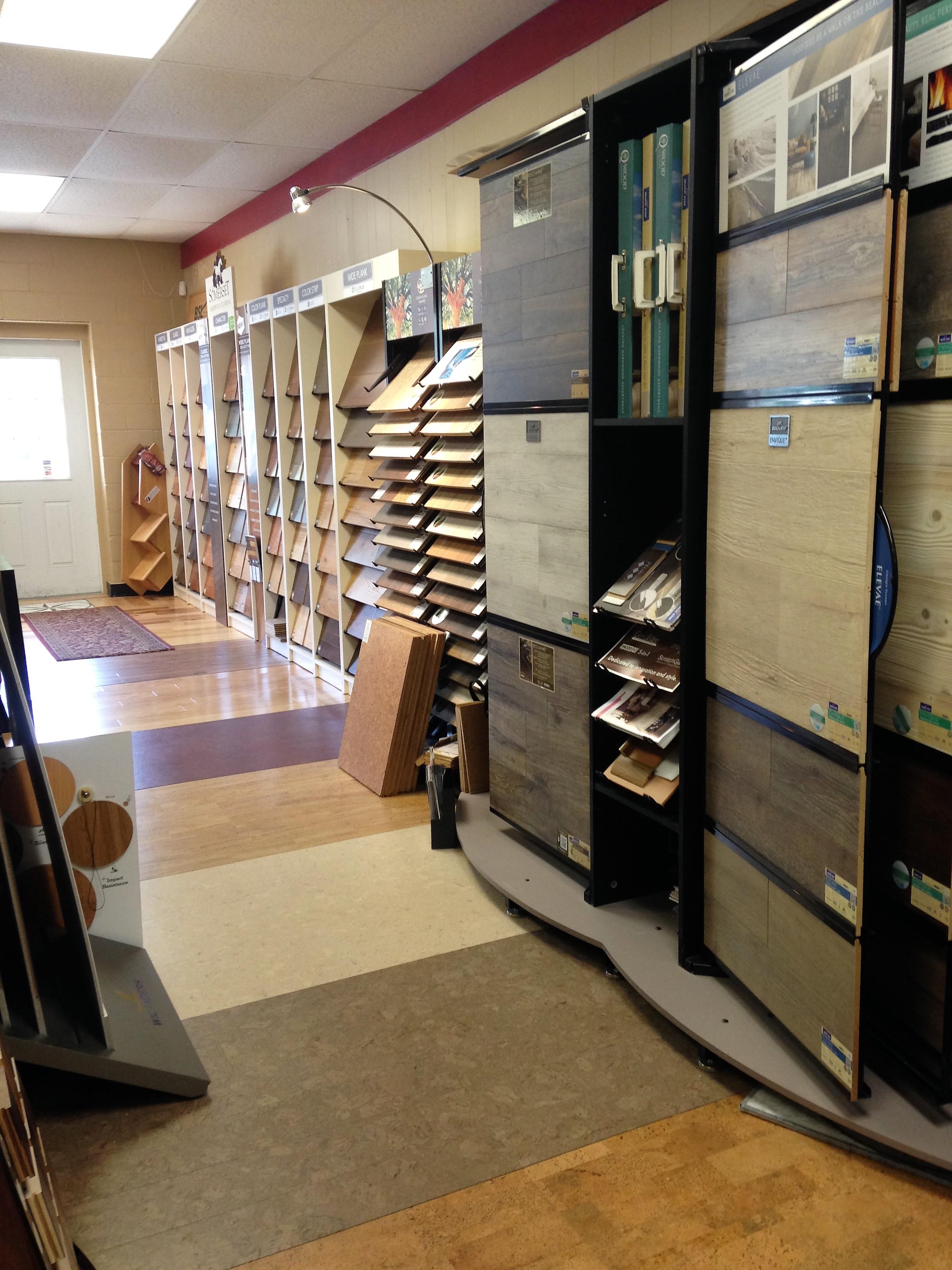 Earth 1st Flooring showroom