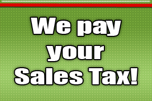 Grand Opening: Double your Sales Tax Savings!!