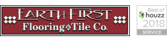 Earth 1st Flooring logo w/ Houzz 2018 Services Winner logo